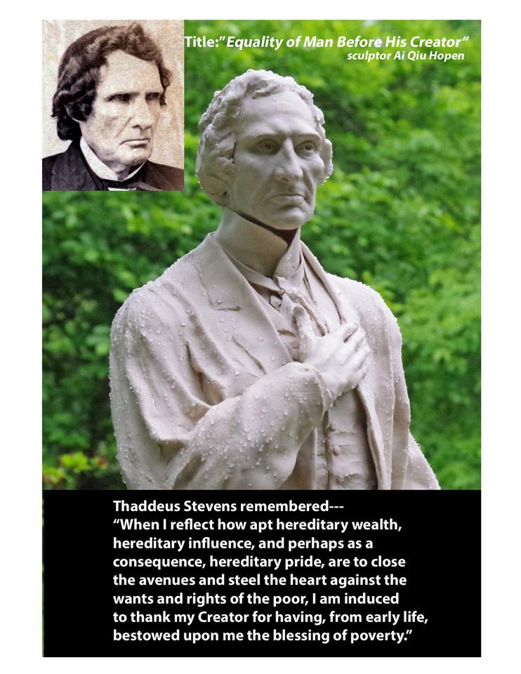 Our Nation' Hero, Thaddeus Stevens - Copyright © 2016 Ai Qiu Hopen all rights reserved